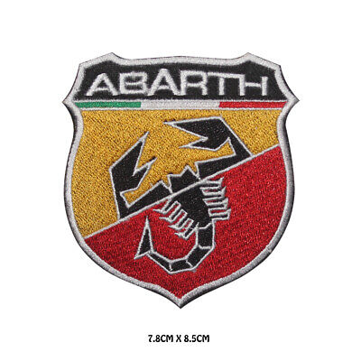 £1.99 • Buy ABARTH Racing Car Brand Logo Embroidered Iron On Patch Sew On Badge