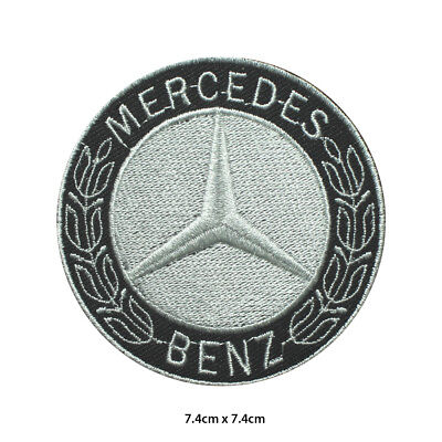 £1.99 • Buy Mercedes Benz Car Brand Racing Logo Embroidered Patch Iron On Sew On Badge