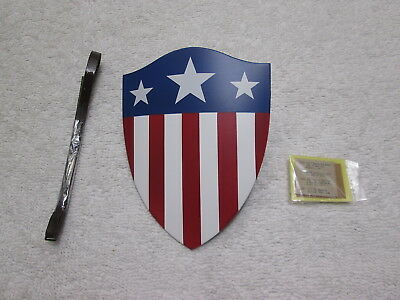 $ CDN64.78 • Buy Captain America Shield & Notes 1/6 Scale Star Spangled Man MMS 205 - Hot Toys