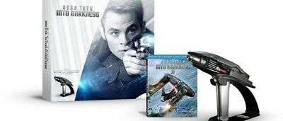 AU350.12 • Buy STAR TREK Into Darkness PHASER LIMITED EDITION Gift Box Set Blu-Ray 3D Combo NEW