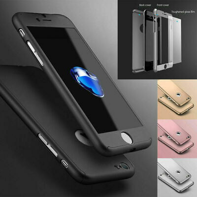 Case For IPhone 11 8 7 6 XR XS SE 2 Shockproof 360° Full Body Cover Protective • 2.89£
