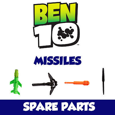 Ben 10 Spare Parts - Missiles / Launchers / Bullets / Rockets For Cars / Figures • 3.85£