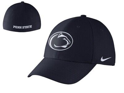 new product ef218 5d8a9 Nike Penn State Nittany Lions NCAA Fiest Bowl Bound Swoosh Flex M L Hat Cap