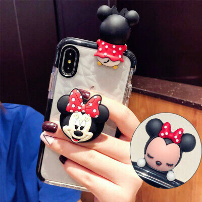AU12.99 • Buy Cute Disney Minnie Doll Stand Holder Diamond Case Cover For IPhone 11 Pro Max 8+