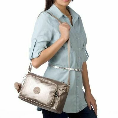 $69.99 • Buy Kipling Women's Reth Cross Body Bag In Toasty Gold $115, NWT!