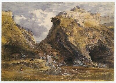 View At Tintagel, Samuel Palmer Print In 11 X 14 Inch Mount Ready To Frame • 17.95£