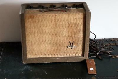 $ CDN1330.12 • Buy 1959 Silvertone 1392 Harmonica Tube Amplifier Owned By J Geils