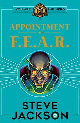 AU20.89 • Buy Fighting Fantasy: Appointment With F.e.a.r. By Steve Jackson Paperback Book Free