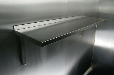 Stainless Steel Shelf 1500x300mm For Commercial Kitchens Workshops And Stores  • 64.94£