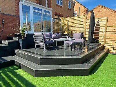 £2.89 • Buy Finch Composite Decking Boards Wood Effect Plastic Decking Sample Box