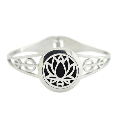 $ CDN9.20 • Buy Essential Oil Diffuser Bracelet - Lotus Flower Design
