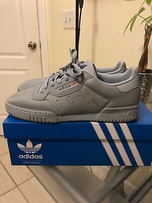 08d7b57b83206 Adidas Yeezy Calabasas Powerphase Grey Size 9 Mens Shoes Cg6422 100%  Authentic • 80.00