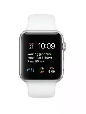 $ CDN412.74 • Buy Apple Watch Series 1,42mm Silver Aluminum Case With White Sport Band. NIB