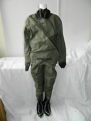 RAF MK1 Coverall Immersion Suit, Size 6, Ch 99-107cm, Ht 173-181cm, Boot 7-11 • 49.99£