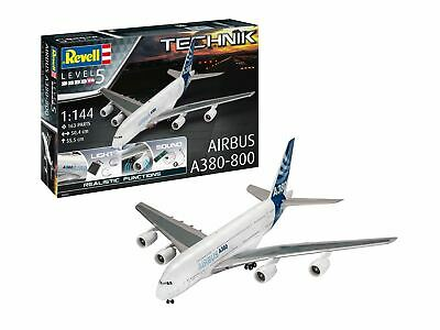 Revell Technik 1:144 00453 Airbus A380-800 Model Aircraft Kit • 93.99£