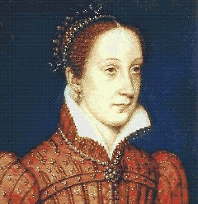 Mary Queen Of Scots # 1 - Cross Stitch Chart • 2.50£