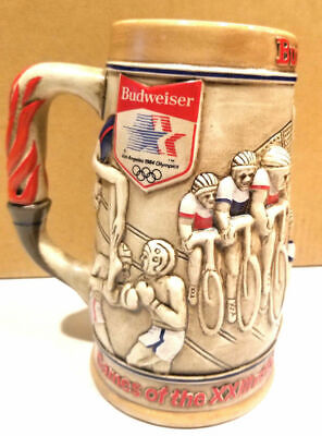 $ CDN28.80 • Buy Anheuser-Busch 1984 LA Olympic Stein 1980 Diving Soccer Cycling Budweiser