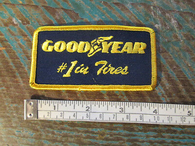 Goodyear 1 In Tires Patch Tire Rubber Company Nascar Scca Can Am Racing F1 Imsa • 3$