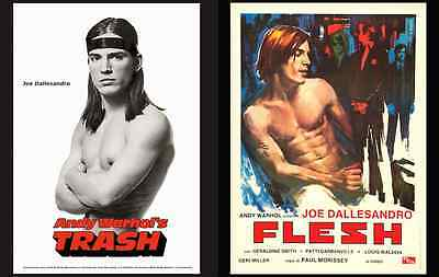 $15 • Buy Andy Warhol Film Poster Replicas Featuring Joe Dallesandro • Digitally Restored