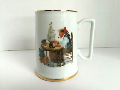 $ CDN11.99 • Buy Norman Rockwell Mug Beer Stein 1984 The Seafarers Collectible Cup