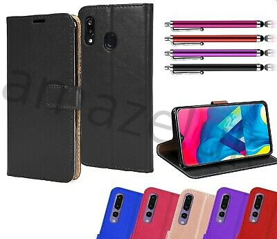 Case For Huawei P30 Lite Y7 Y9 Y6  Leather Wallet Flip Magnetic Book Phone Cover • 3.80£