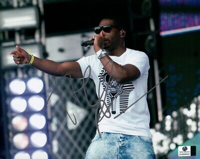 Tinie Tempah Signed Autographed 8X10 Photo On Stage Daytime Silver GV869502 • 31.75£