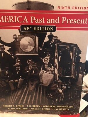 $25 • Buy America Past And Present: AP Edition, By Robert A. Divine, High School Books