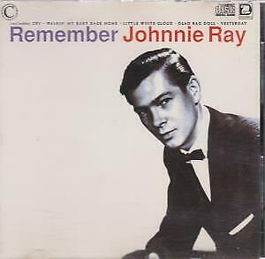 JOHNNIE RAY Remember CD France Connoisseur Collection 1990 12 Track (Csapcd100) • 3.14£
