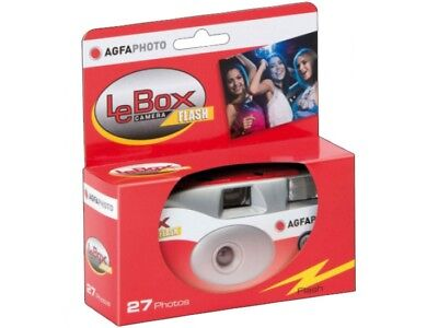 AgfaPhoto LeBox 400 Disposable Camera With Flash (27 Exposures) • 12.99£