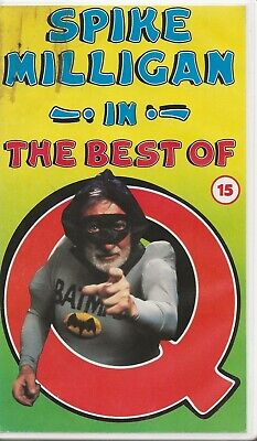 Spike Milligan In The Best Of Q - Rare  Vhs (video)   • 10.99£