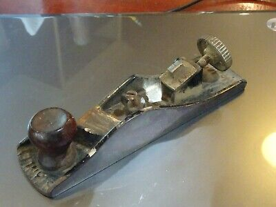 Classic Antique Stanley 140 Rabbit Block Plane Body And Miscl Parts    • 63.80£