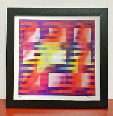 $1499 • Buy Yaacov AGAM Original Agamograph  UNTITLED   Signed, Numbered & Framed