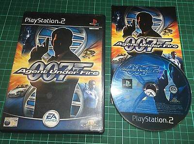 007 Agent Under Fire For Sony Playstation 2, PS2, Complete • 4.99£