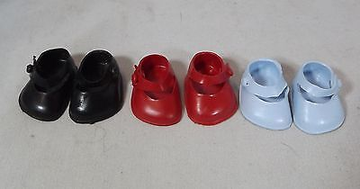 Pair Of Cinderella Doll Strap Shoes Size 05 - Various Colours *One Pair Only* • 3£