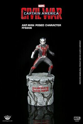 AU25.37 • Buy King Arts Captain America 3 Civil War ANT MAN Posed Character With Stone FFS006