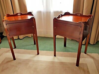 £1000 • Buy Pair Of Antique Mahogany Bedside Tables