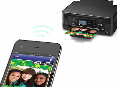 View Details Epson Expression XP-446 Wireless  Photo Printer Scanner And Copier, INK INCLUDED • 42.47$
