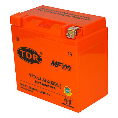 AU71.95 • Buy YTX14-BS Scooter Battery For Suzuki 650cc AN650 Burgman 2003 - 2017