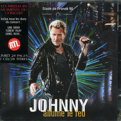 AU25.57 • Buy Johnny Hallyday - Stade De France 1998 [New CD] France - Import