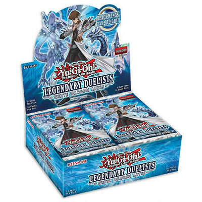 1st Edition Yugioh Legendary Duelists White Dragon Abyss LED3 Cards • 0.99£