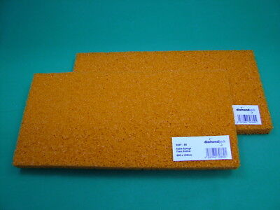 £8.90 • Buy Pack Of 2 Refills For Sponge Rubber Tiling Grout Float 280x140mm, 16mm Thick