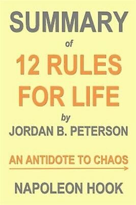 AU15.89 • Buy Summary 12 Rules For Life By Jordan B Peterson An Antidote T By Hook Napoleon