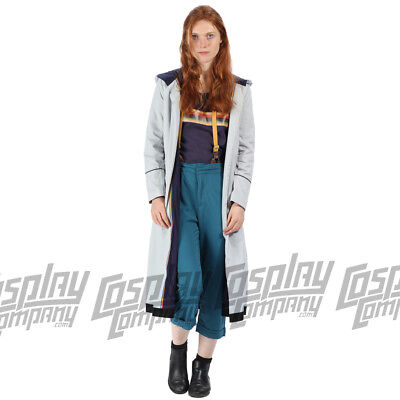 Doctor Dr Who Jodie Whittaker 13th Costume Cosplay Fancy Dress Jacket T-shirt  • 28.99£