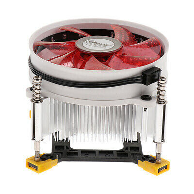 $ CDN24.45 • Buy 2500RPM Computer CPU Quiet Fan 9cm Cooling Heatsink Cooler For LGA 1366 Red