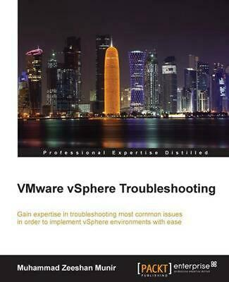 AU86.41 • Buy VMware VSphere Troubleshooting By Zeeshan Munir (English) Paperback Book Free Sh