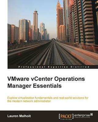 AU76.45 • Buy Vmware Vcenter Operations Manager Essentials By Lauren Malhoit (English) Paperba