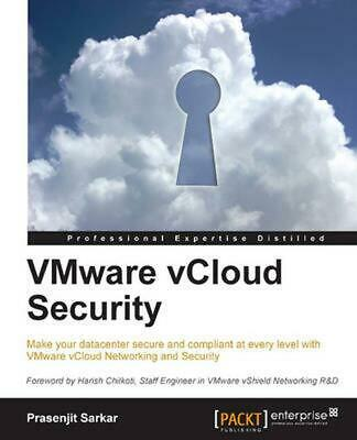 AU39.53 • Buy Vmware Vcloud Security By Prasenjit Sarkar (English) Paperback Book Free Shippin