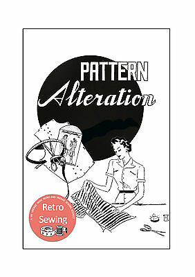 Dressmaking Pattern Alteration Guide - Sewing Book - Copy • 9.99£