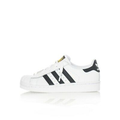 save off b32af 6a0b1 Sneakers Bambino Adidas Superstar C Ba8378 Kids Leather Shoes Style Tribes  Bianc • 65.94€