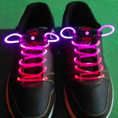 £2.99 • Buy AKORD LED Shoelaces Light Up Laces Pink